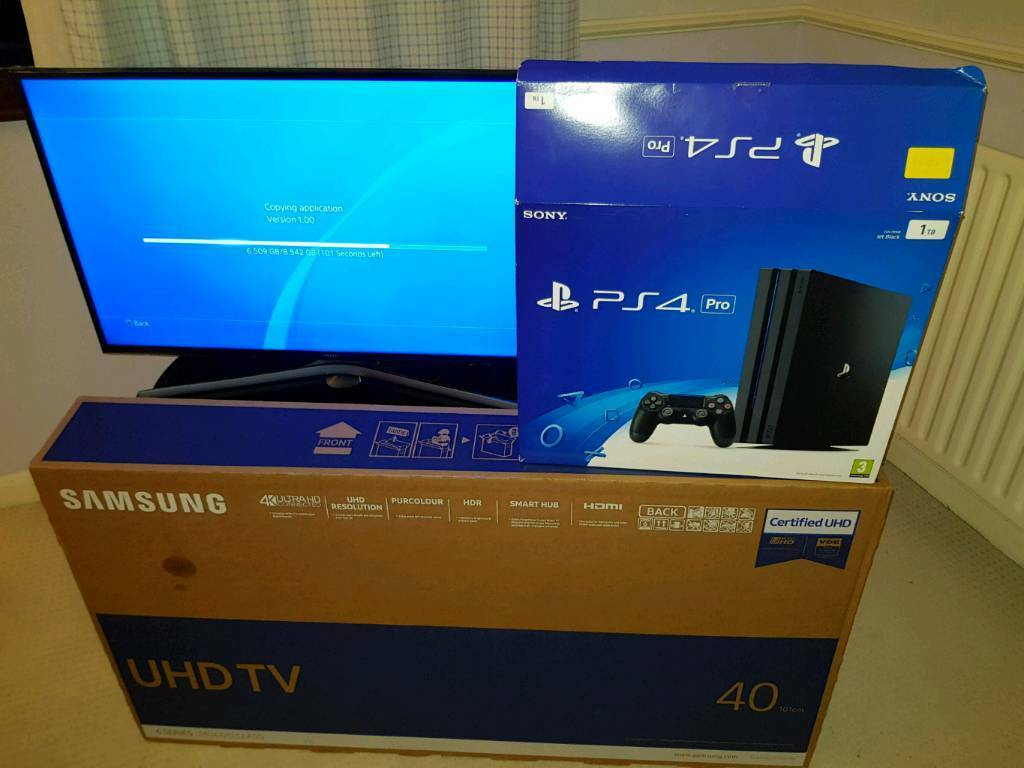 No offers bargain price samsung 40 smart 4k tv and ps4 for Muebles para playstation