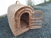 Rabbit or small pet travel basket