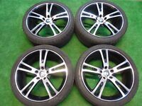 "RANGE ROVER LAND ROVER, BMW GT, 5, 7, 8 SERIES, X3, X5, X6, 20"" AVR ALLOY WHEELS ( OUR REF 008 )"