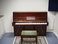 Soundproof Music Practice Room/Production/Rehearsal Studio w/Acoustic Piano, days and evenings