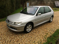 PEUGEOT 306 GLX 5 DOOR 1.8 ONE OWNER FROM NEW!! HUGE HISTORY FILE STUNNING !!