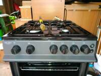 Bush Standalone Gas Cooker with Double Oven