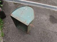 Vintage lawN mower grass collection box for suffolk Punch or Colt