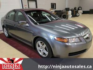 2005 Acura TL 6 Cyl Leather Sunroof Good Michelins
