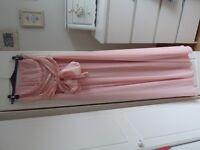 Nude Pink Long Dress. SIZE 12. Prom / Bridesmaid Dress. Summer Dress.