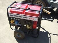 DIESEL WELDER / GENERATOR ELECTRIC START
