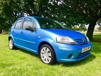 2005 CITROEN C3 1.4 PETROL MANUAL ** ONLY 64000 MILES ** NEW MOT ( NO ADVISORY )**