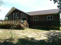 Brand new Year round Cabin Lakefront 80Min's from Saskatoon.NW