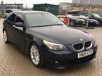 BMW 5 Series 3.0 535d M Sport 4dr SPORT HEATED LEATHER SEAT NAV