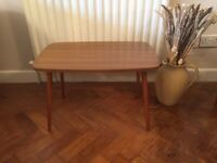 Retro Formica & Teak Side Table