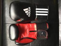Adidas boxing/sparring gloves