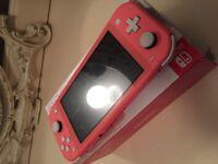 Nintendo Switch Lite Like New Hardly Used