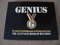 Classic - Genius Board Game c. Guinness 1988