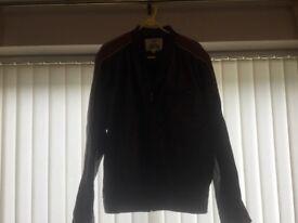 Leather jacket size large