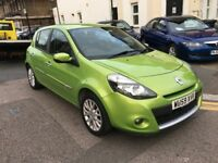 RENAULT CLIO 1.2 DYNAMIQUE TCE 2009 (59) GREEN LOW MILEAGE 2 KEYS 2 LADY OWNE...
