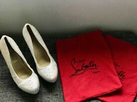 Louboutin Style Diamante Heels