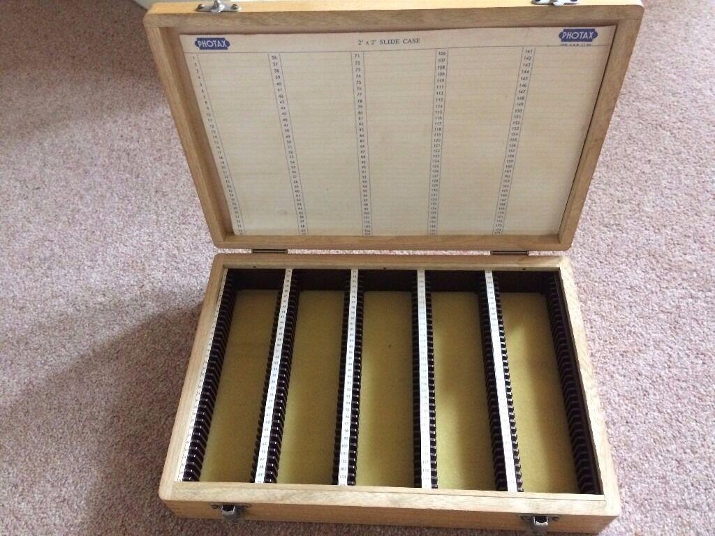 Slide Storage Case- 35mm slides.