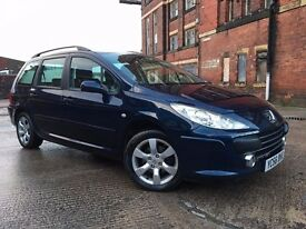 Peugeot 307 SW 1.6 HDi S 5dr 1 FORMER KEEPER RING NOW FOR MORE INFO 07735447270