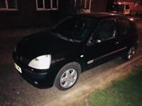 Renault Clio 1.5dci (will take better pictures in daylight)