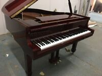 BRAND NEW - STEINHOVEN SG183 - MAHOGONY HIGH GLOSS GRAND PIANO