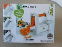 Salter Spiralizer - never been out of box, as new