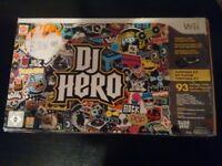 Wii Game DJ Hero