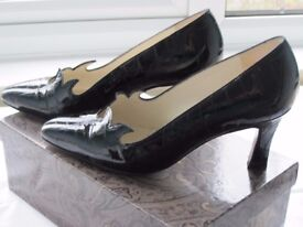 Ladies Italian Heeled Court Shoes