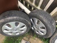 Vauxhall set off wheels 5stud