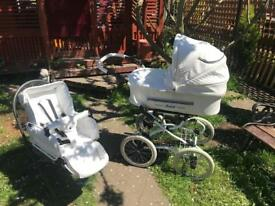 beautifull isabell vitage retro pram
