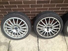 oZ Racing Superturismo alloy wheels x 4