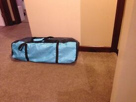 Travel cot, excellent condition, no previous owners