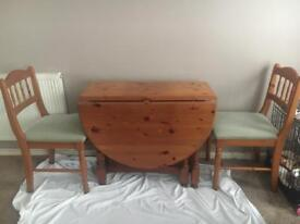 4 seater pine extendable