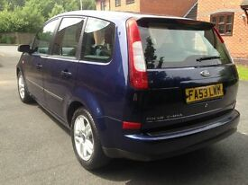FORD FOCUS C-MAX TDCI DIESEL ESTATE 2003 12 MONTHS MOT DRIVES VERY WELL