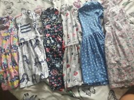 Girls summer dresses 3-4, 5-6 & 6-7yrs