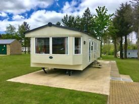 Double glazed gas central heated static caravan for sale in the durham countryside nr northumberland