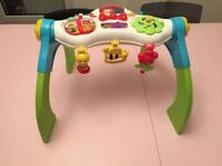 Activity station for babies and early walkers