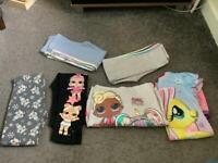 Girls clothes bundle LOL my little pony age 5-6 years