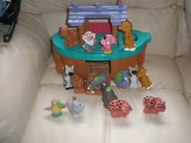 Fisher-Price Little Peoples Farm / Norah`s Ark & Race sets