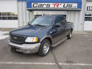 2002 Ford F-150 KING RANCH RWD LOADED ONLY 27K!