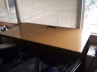 LARGE OFFICE TABLE DESK COMPUTER STUDY STRONG 160CM X 80CM