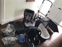 Sola buggy travel system and maxi cosi