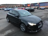 Audi a1 1.4 tfsi genuine s line style edition 2014 cat d, fsh, 1 owner, quick bargain sale