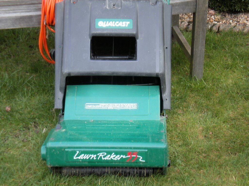 Qualcast Electric Lawn Rake Scarifier In Whitfield Kent
