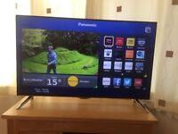 "Panasonic 48"" 4k ultra hd smart 3D tv"