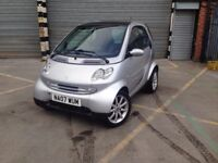 2007 MERCEDES SMART FOURTWO CITY PASSION 698cc * LOW MILEAGE * FULL HISTORY * AUTOMATIC * LOW MILES