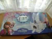 New Disney Frozen Cardboard Ice Palace with Figures & Furniture