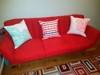 Immaculate AS NEW 3 Seater Barker & Stonehouse Lila Sofa - £250