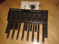 Roland PK-5 MIDI pedal controller / Gator gig bag