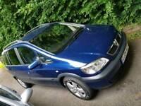 Vauxhall Zafira 1.6 16v manual