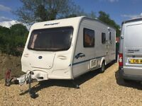 Bailey ranger 510/4L 2005 4 berth Touring caravan!! Immaculate